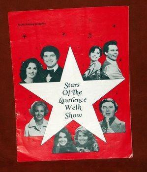 Stars Lawrence Welk Show Program Guy Ralna Bobby Burgess Elaine Norma Zimmer