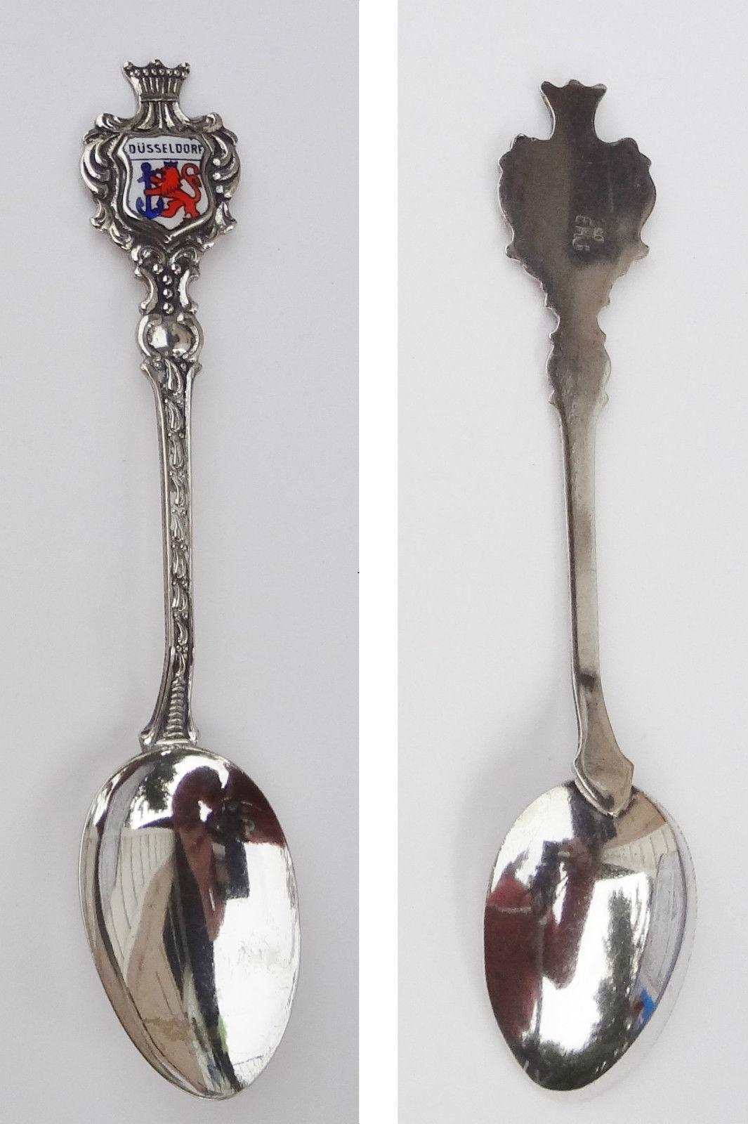 Collector Souvenir Spoon Germany Dusseldorf Coat of Arms