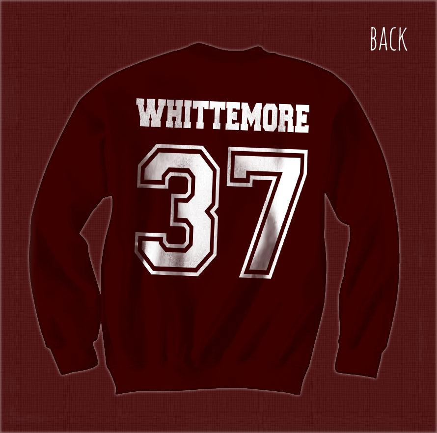 Whittemore 37 Beacon Hills Lacrosse team wolf Unisex Crewneck Sweatshirt