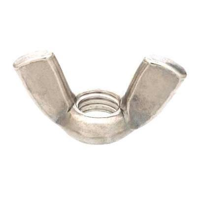 10/24 Zinc-Plated Steel Wing Nut 2pk