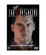 WWF: Invasion 2001 Pre-viewed DVD WWE Jericho Angle Rock Austin oop - $14.95