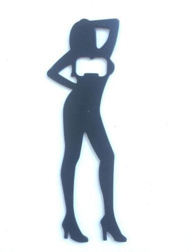 Silhouette in Stilettos Bottle Opener