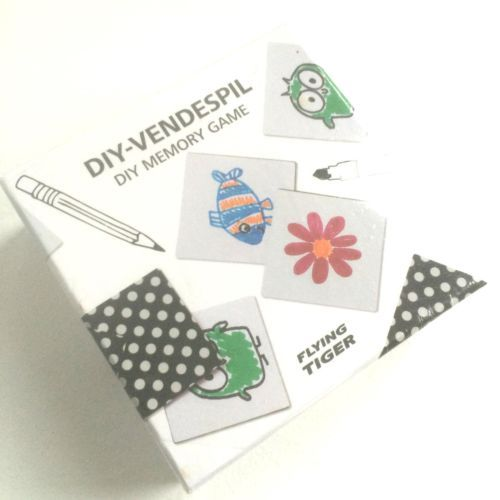 DYI Flash Cards Memory Game