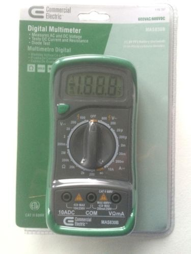Auto-Ranging Digital Multimeter Commercial Electric