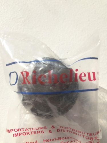 Richelieu Hardware 1-3/4 in. Matte Black 3-Ring Cabinet Knob