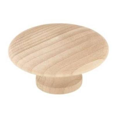 Liberty P10515C-BIR-C5 2 Wood Round Cabinet Hardware Knob