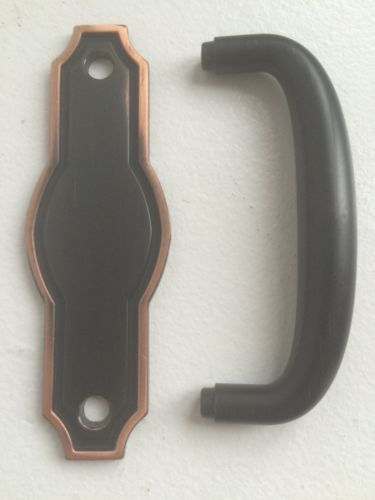 3 in. Venetian Bronze Pryce Pull with Back Plate
