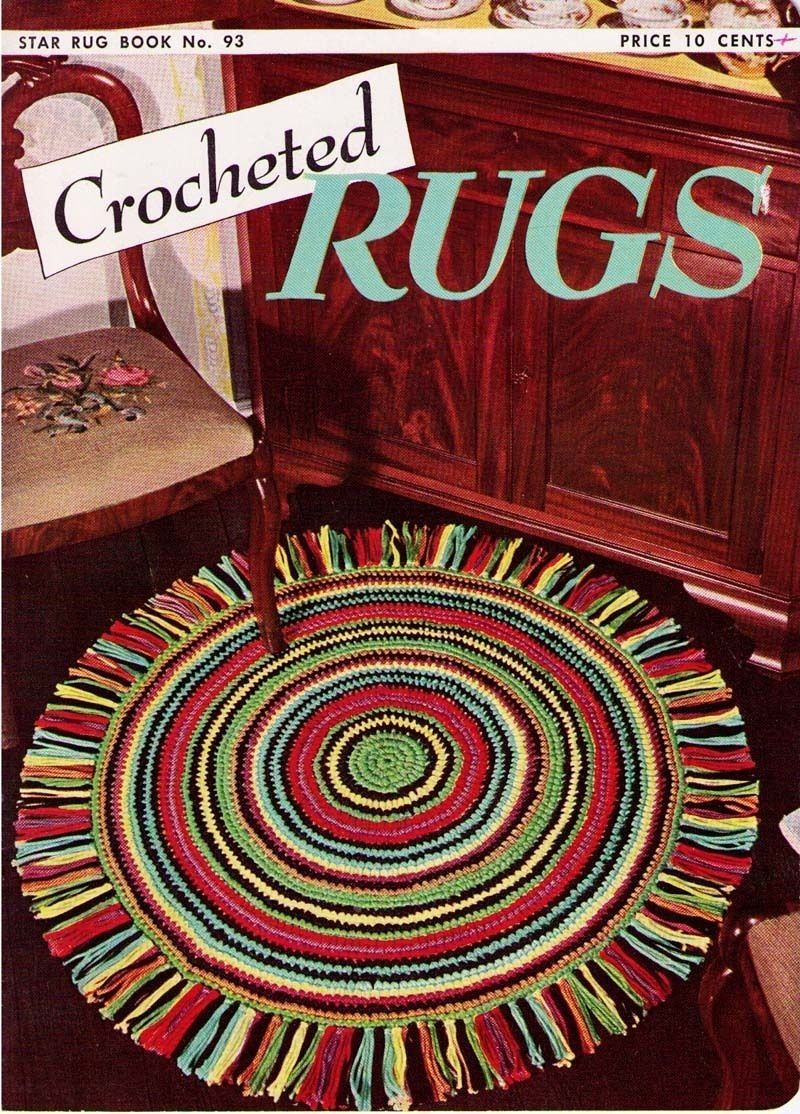 CROCHETED RUGS - 1952 Star Book 93