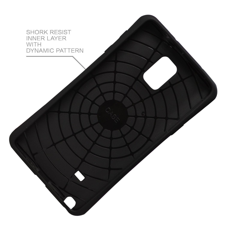 Galaxy Note 4 Case, Iron Armor(TM) [Heavy Drop Protection] Samsung GalaxyNote IV