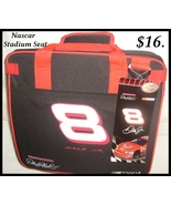 NEW NASCAR DALE JR. EASY FOLD SOFT STADIUM SEAT  - $16.00