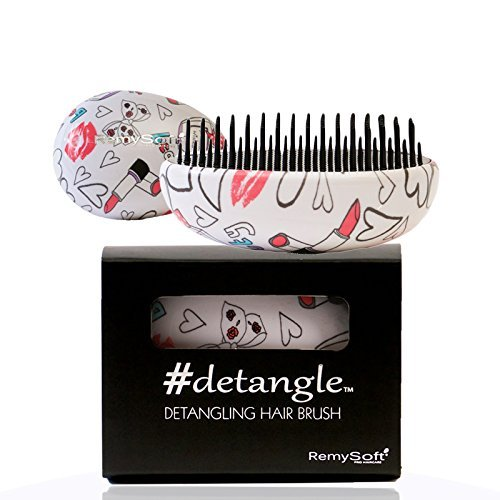Detangling Hair Brush #detangle (BabyDoll) RemySoft Professional Hair Detangler