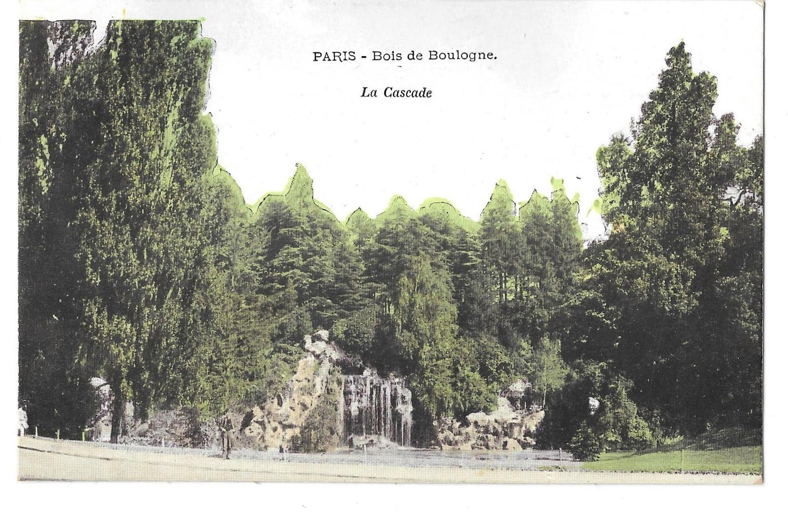 97 br 4950 315 france paris bois de boulogne cascade