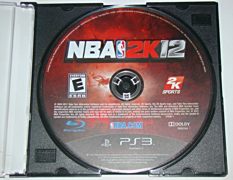 Playstation 3 - 2K SPORTS - NBA 2K 12 (Game Only)