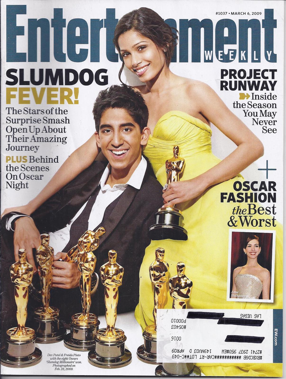 Entertainment slumdog fever