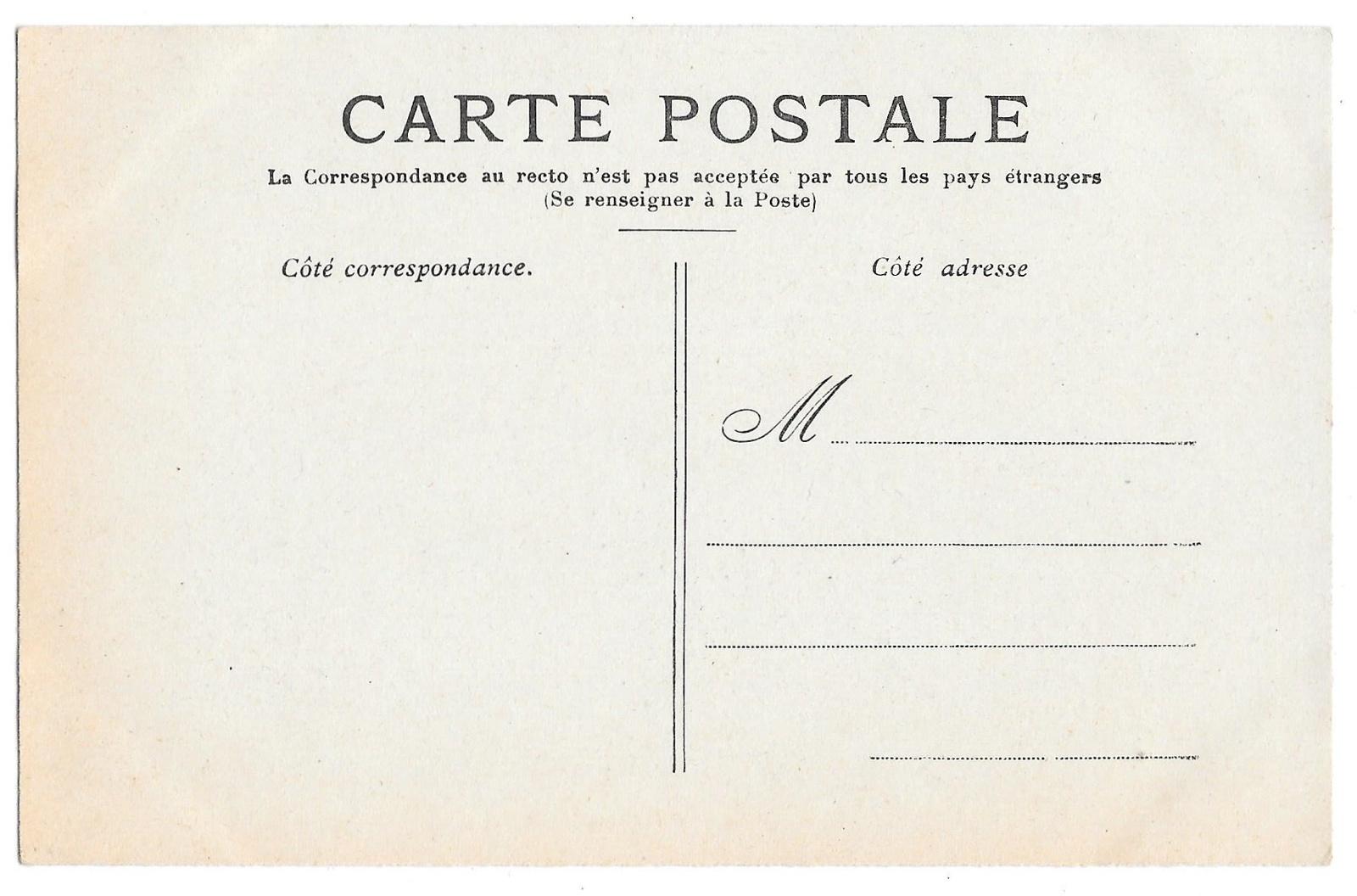 France Versailles Le Boudoir Chateau Petit Trianon Vintage Postcard