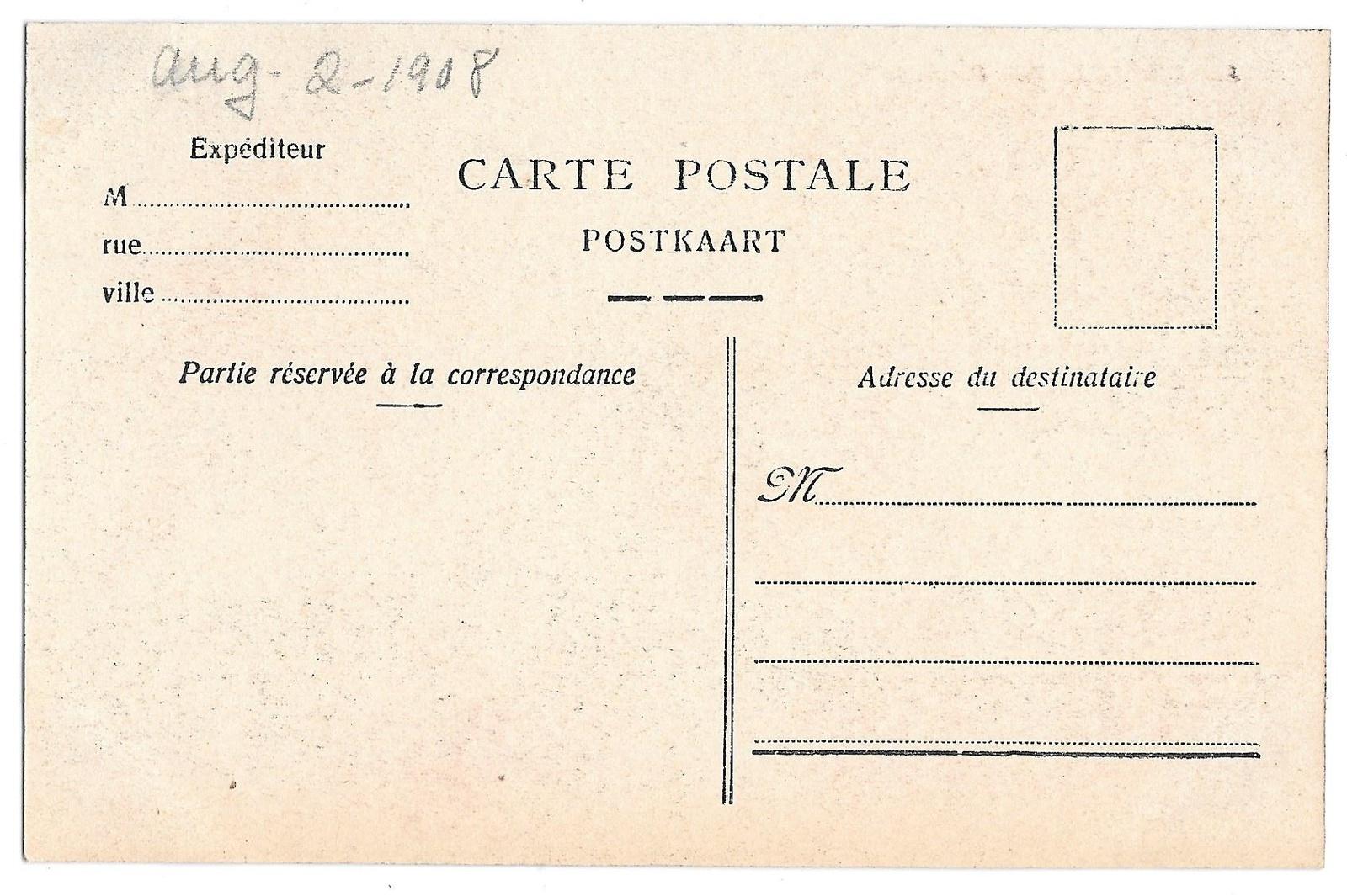 Bruxelles Belgium Brussels Palais de Justice Law Courts Vintage Postcard