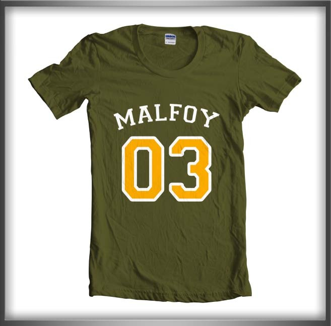 Malfoy with yellow women army green