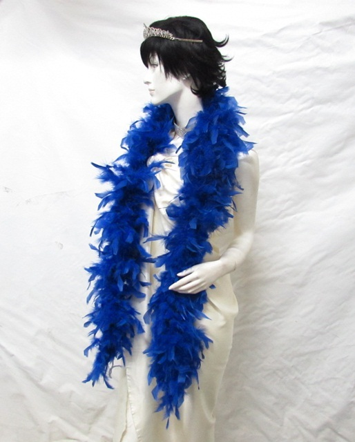 Coque Rooster Marabou Feather Fringe ;Fashion sapphire bridal Fuzzy Fringe #50sp