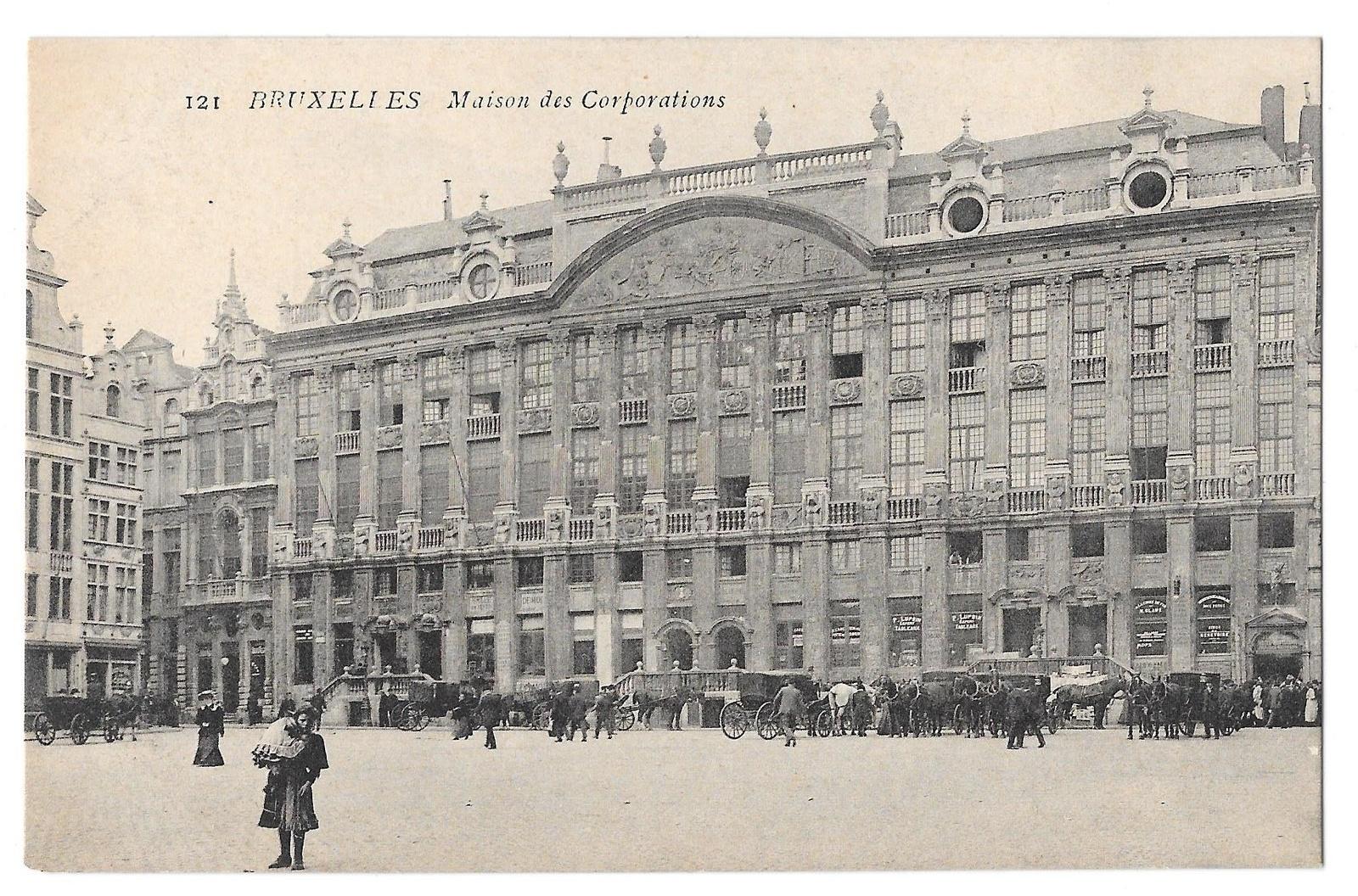 97 br 4950 315 belgium bruxelles brussels maison des corporations