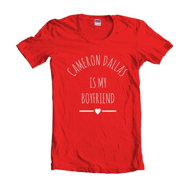 Cameron dallas love women red