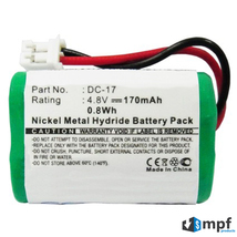 150mAh DC-17 MH120AAAL4GC Battery for SportDog 400 SD-400 800 SD-800 Receivers - $9.95