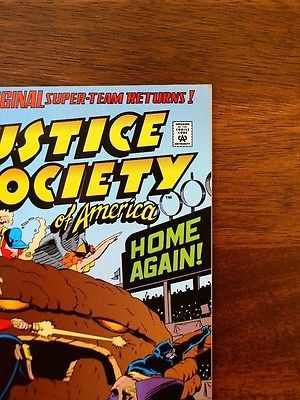 Justice Society of America #1 (Aug 1992, DC) 1ST JESSE QUICK (NM) Comic Book-Vtg