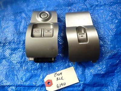 02-06 Acura RSX Type S driver window master switch assembly OEM passenger set