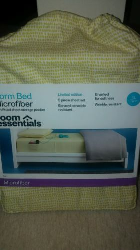 XL Twin(Dorm) 3 piece sheet set- Microfiber-NWT- Room Essentials-Target