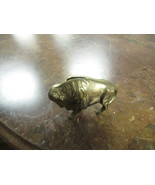 "BRASS BUFFALO BANK   4"" LONG   3"" HIGH   - $17.50"