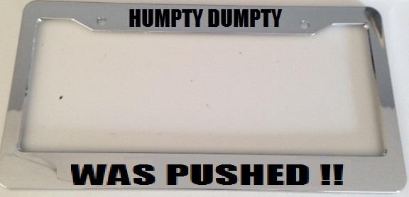 Humpty dumpty chrome