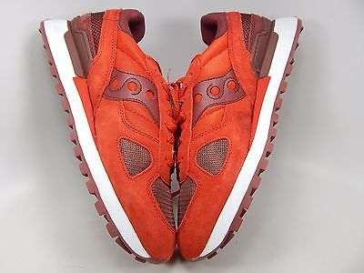 Saucony Shadow Original Retro Men's Shoes Size US 9 M (D) EU 42.5 Red S2108-586