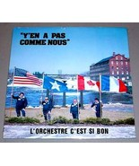 C'EST SI BON BAND SEALED LP - Y'en A Pas Comme Nous (Pal Hop Era Members) - $17.50