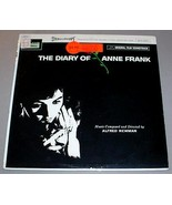 Diary of Anne Frank Sealed LP Soundtrack - Rare in Stereo - $175.00