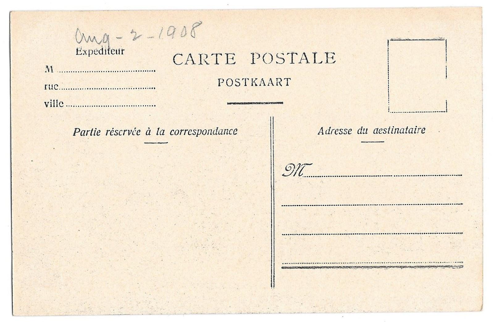 Belgium Bruxelles La Bourse Brussels Stock Exchange Vintage Postcard