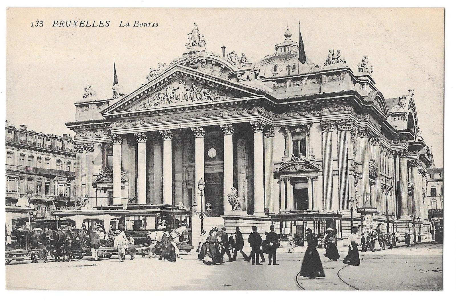 97 br 4950 315 belgium bruxelles brussels la bourse
