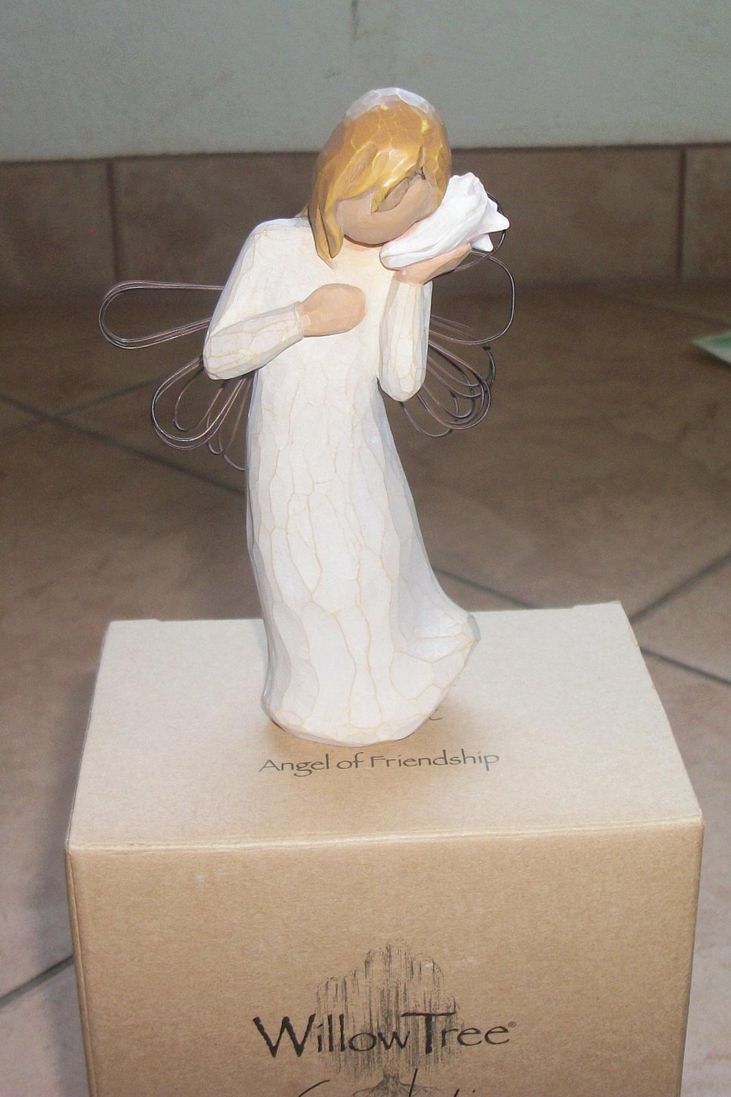 angel knick knack willow tree susan lordi angel of friendship new