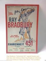 Ray Bradbury -- signed Fahrenheit 451 theatre c... - $100.00