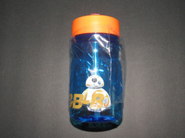 STAR WARS EPISODE VII BB-8 WATER BOTTLE WITH STRAW SMALL SIZE 13.7OZ - $9.68