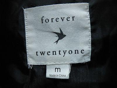 Forever 21 Juniors Vest Green Beige Plaid 60% Wool