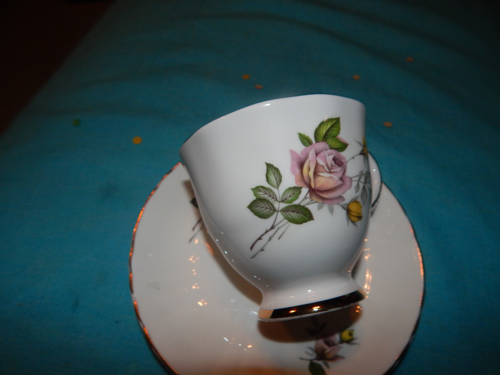 Royal Grafton Gorgeous cup and saucer bone China England Free Shipping #131