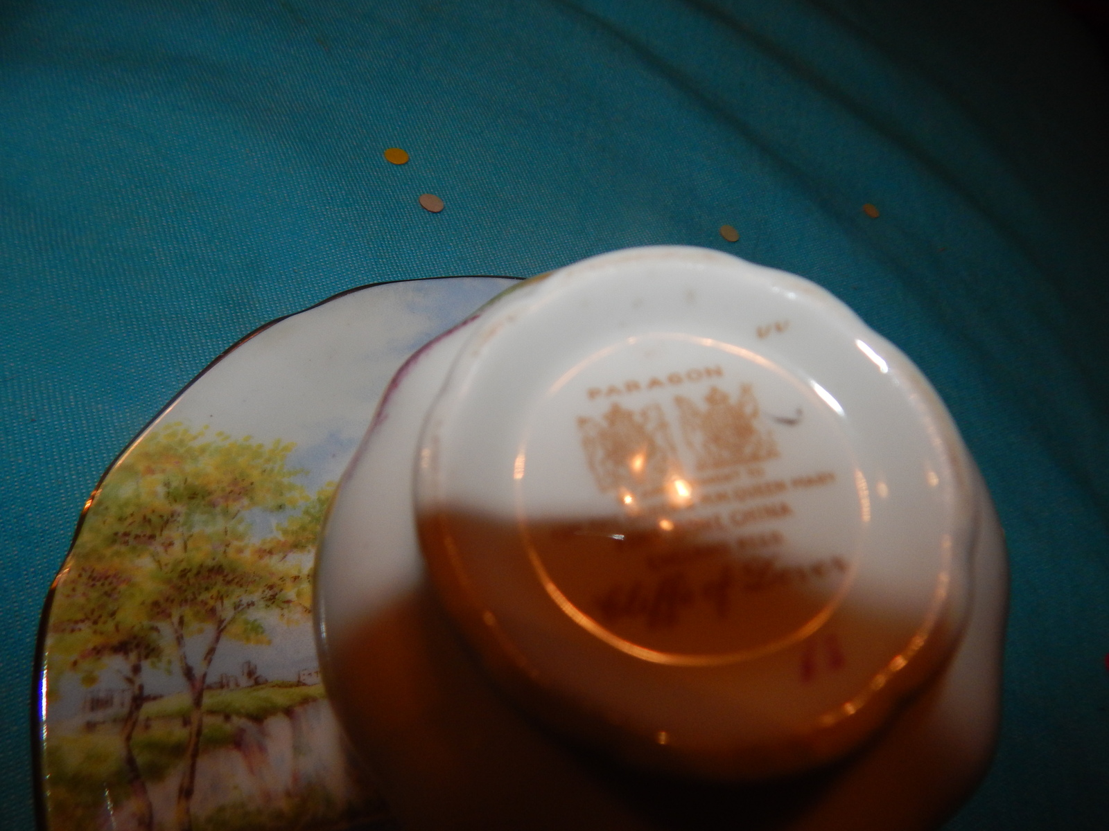 Paragon Double Stamp Cliffs of Dover England bone china Free Shipping #13
