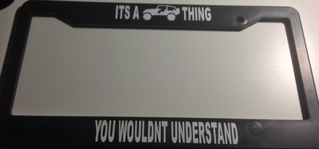 Its a jeep thing black