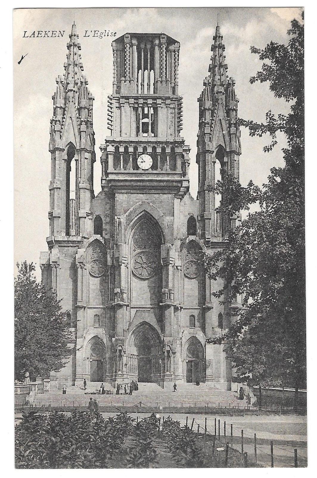 97 br 4950 315 belgium laeken l eglise church
