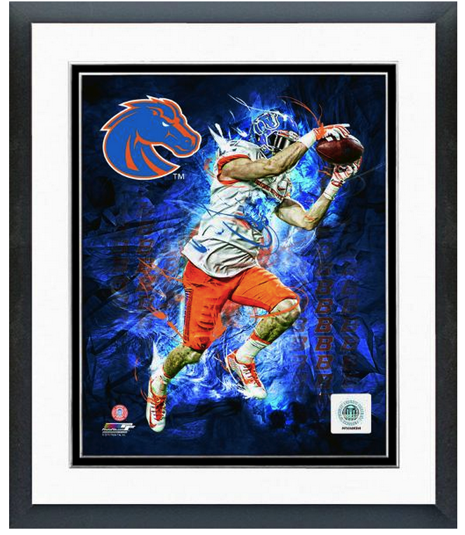 Boise State Broncos Player Composite -11 x 14 Framed & Matted Photo Composite
