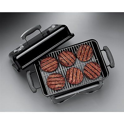 Weber Outdoor Go-Anywhere Charcoal Grill, Black #Travel with Convenience