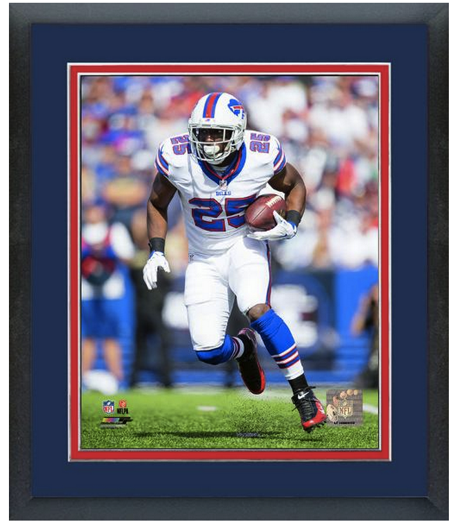LeSean McCoy Buffalo Bills Around End - 11 x 14 Matted/Framed Photo