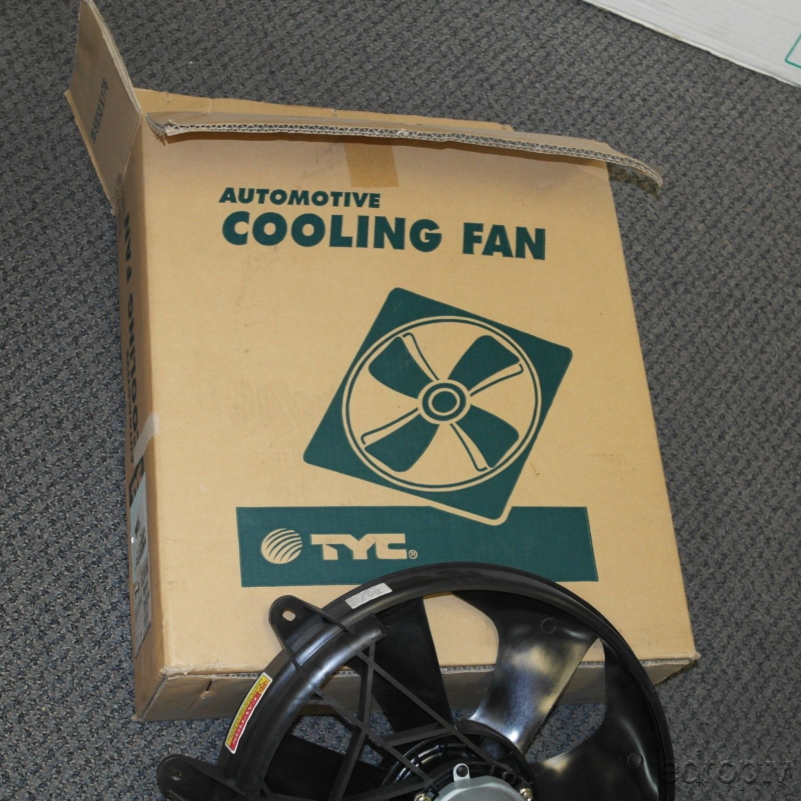 Engine Cooling Fan Assembly TYC 620080 91 92 Chrysler Caravan