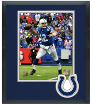 Andrew Luck 2015 Indianapolis Colts - 11 x 14 Team Logo Matted/Framed Photo - $43.55
