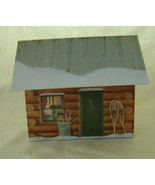 Upcycled Log Cabin Recipe File w/Recipes & Cookie Cutters - $16.00
