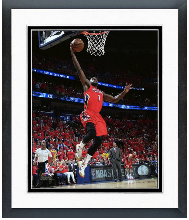 Tyreke Evans Pelicans 2014-15 NBA Playoffs  - 11 x 14 Matted/Framed Photo